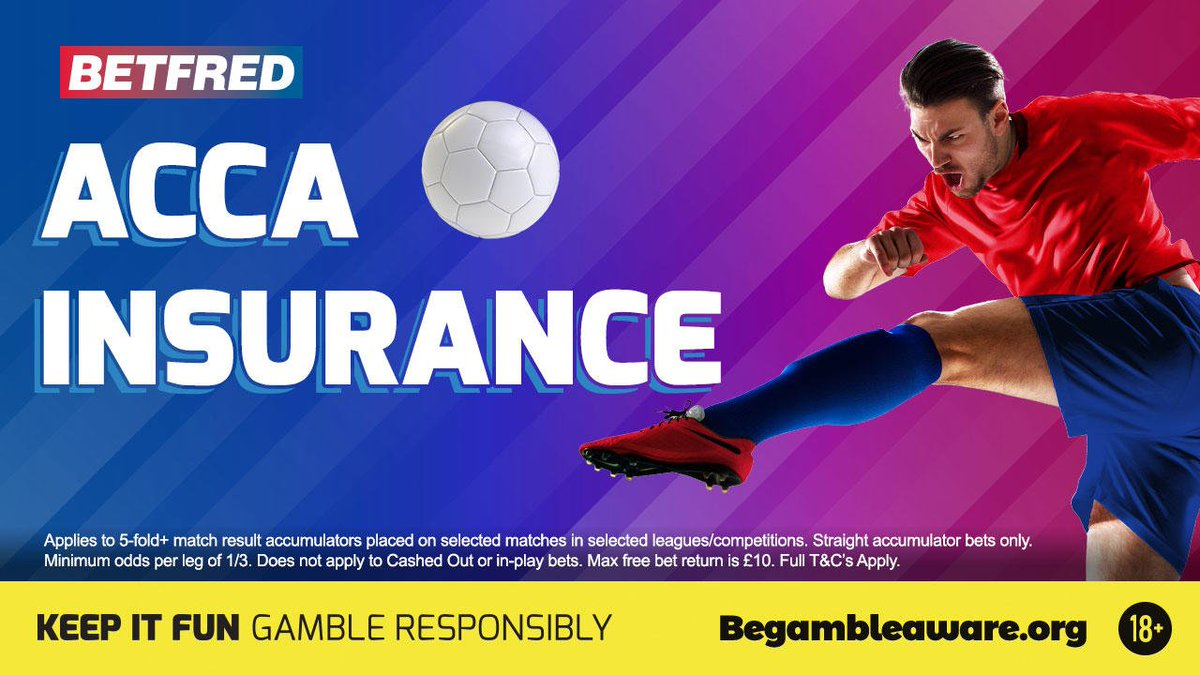 Image result for betfred acca insurance