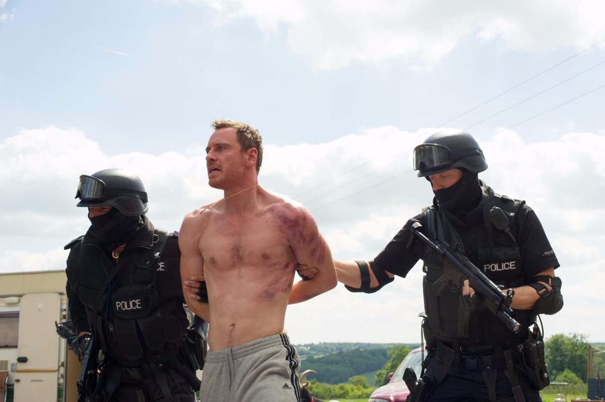 Bad Boy! (#TrespassAgainstUs, 2016) #MichaelFassbender #Movie #Promo<br>http://pic.twitter.com/15iPftDsjg