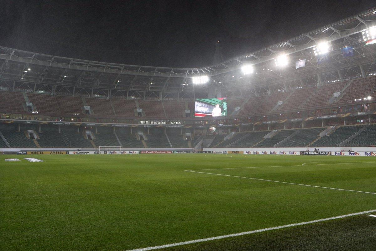 Лига Европы. «Локомотив» - «Копенгаген»