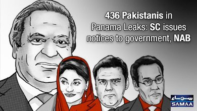 test Twitter Media - 436 Pakistanis in #PanamaLeaks: #SC issues notices to government, #NAB https://t.co/kS5JAkvwVC https://t.co/F4cpPZGoPU