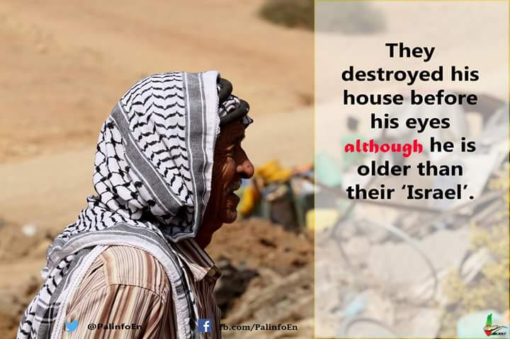 Palestinian man His house has been demolished by the Zionists  #Palestine#FreePalestine #EndTheOccupation #BDS  #micropoetry #haiku #haikuchallenge #amwriting<br>http://pic.twitter.com/dIVmH9NPKi