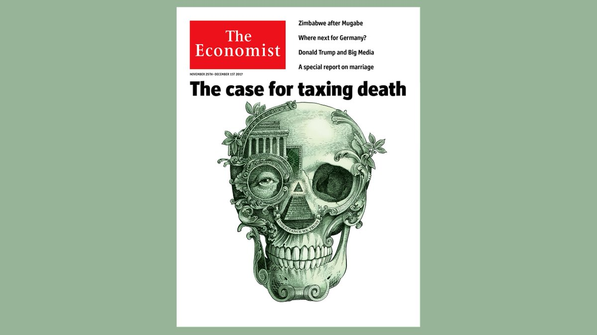 Taxes may be certain in life, but they are increasingly less so in death. Our cover this week https://t.co/QNoK3hhgsR