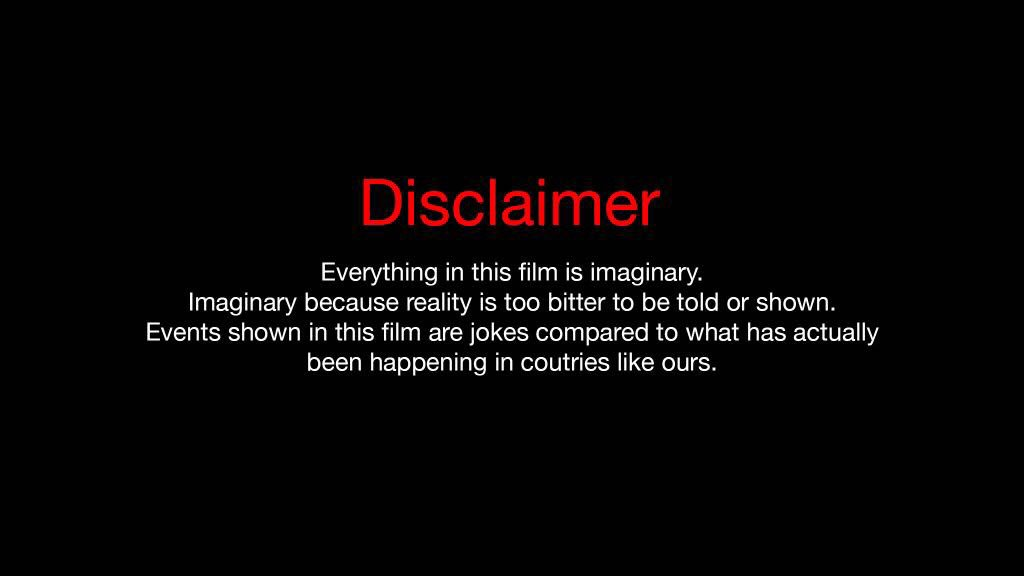 "Disclaimer: Mahira Khan On Twitter: ""Disclaimer That Goes Before"