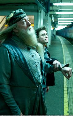 Harry Potter taking Professor Dumbledore for the routine geriatric eye examination #Optometry #Eyecare  @NileshThite<br>http://pic.twitter.com/Gw5kbyzOyq