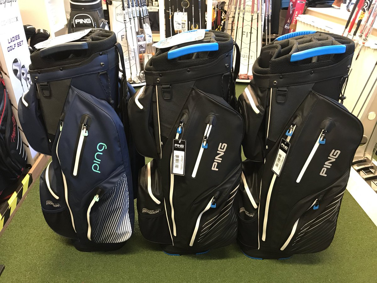 Wrag Barn Pro On Twitter New Ping Pioneer Monsoon Waterproof Trolley Cart Bags 6 5lbs 10 Pockets 15 Way Top And 2 Large Ventilated Slip Pouches