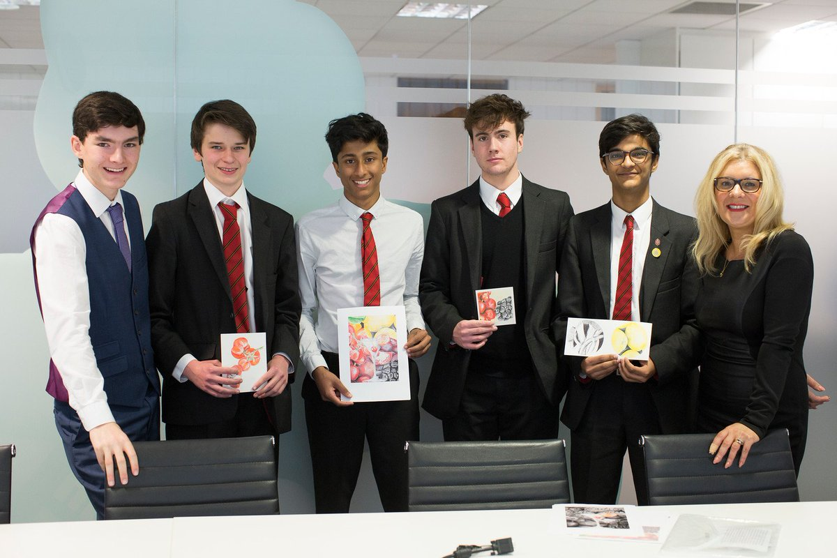 Young Enterprise meets Dragons Den