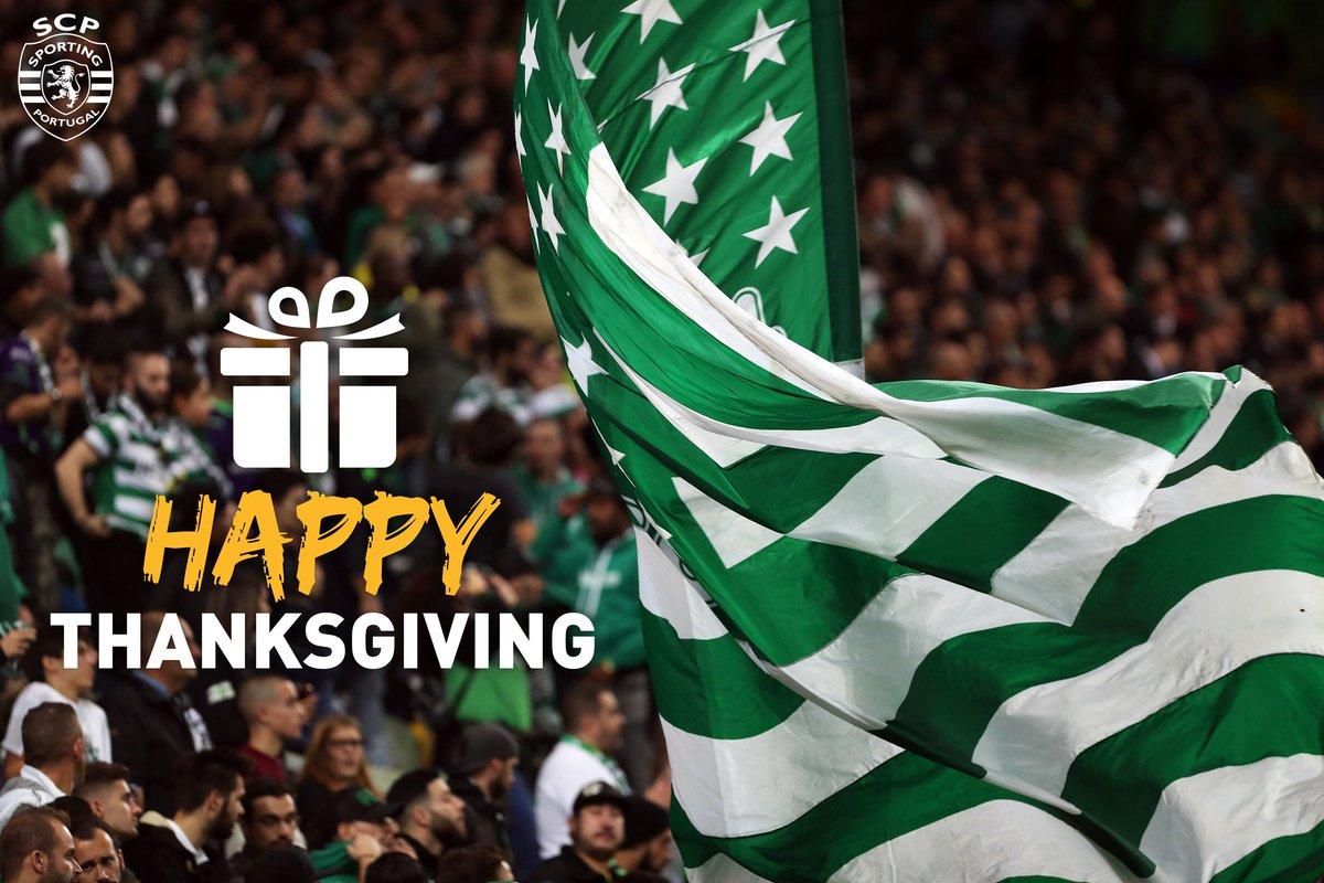 'Happy Thanksgiving' para todos os Leões que residem nos Estados Unidos da América.'Happy Thanksgiving' to all our US followers. #Thanksgivingpic.twitter.com/cnrEnnzwyD