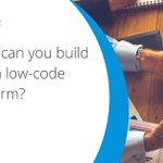 Focused on how your business differentiates itself through its business processes? #Lowcode dev. is the answer: https://t.co/XzpXC3Y3Rj