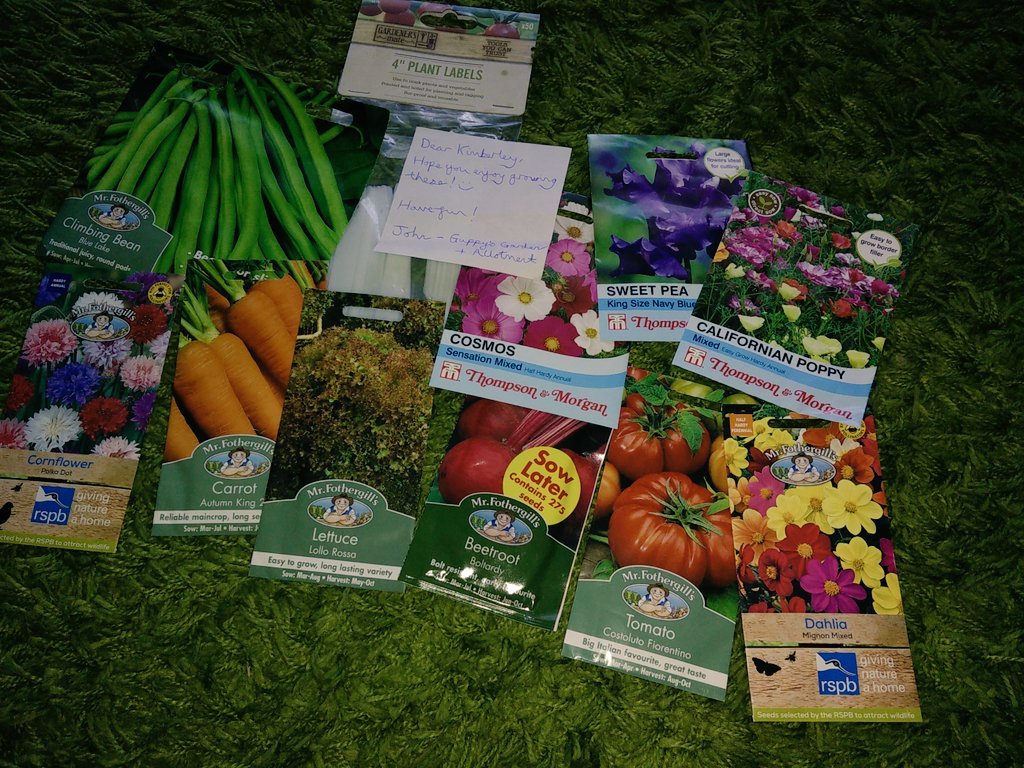 I won something!  YAY Thank you to @the_guppster for all these seeds I can&#39;t wait to get stated with them in my allotment  If you like watching allotment videos on YouTube go subscribe to him  #allotment <br>http://pic.twitter.com/BSR3pxm12g