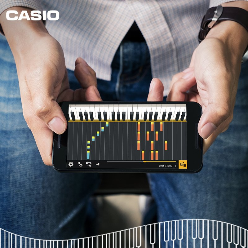 مع كاسيو، يصبح تعلم العزف بسهولة تنزيل التطبيق على هواتفنا الذكية! زوروا عالم الموسيقى لدينا وتعرفوا على الأدوات الرائعة التي نضعها بين أيديكم https://t.co/oz8gUCHdJr https://t.co/sKfyu4XQy0