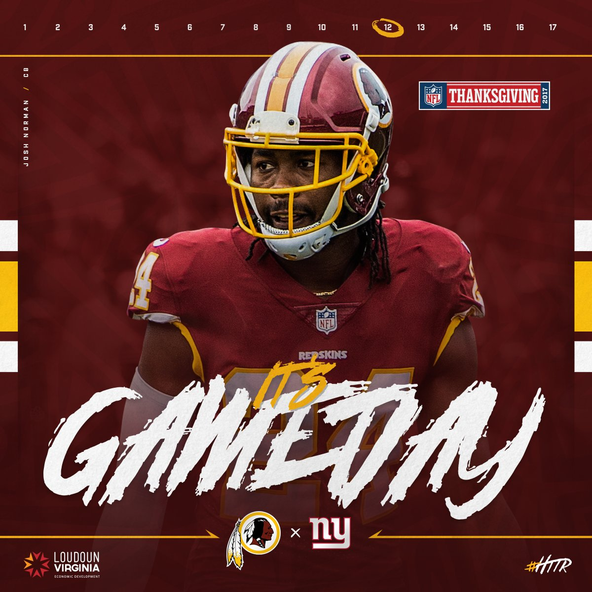 Time to feast.  #HTTR #NYGvsWAS