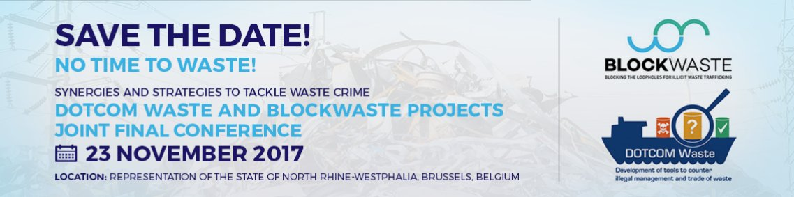 """Marina de Gier and David Ellero #keynote #speakers at """"No Time To Waste! Synergies and Strategies to Tackle #Waste #Crime"""" #conference https://t.co/xahcogrAEk #wastecrime #illegalwaste #wastemanagement  #wastetrade"""