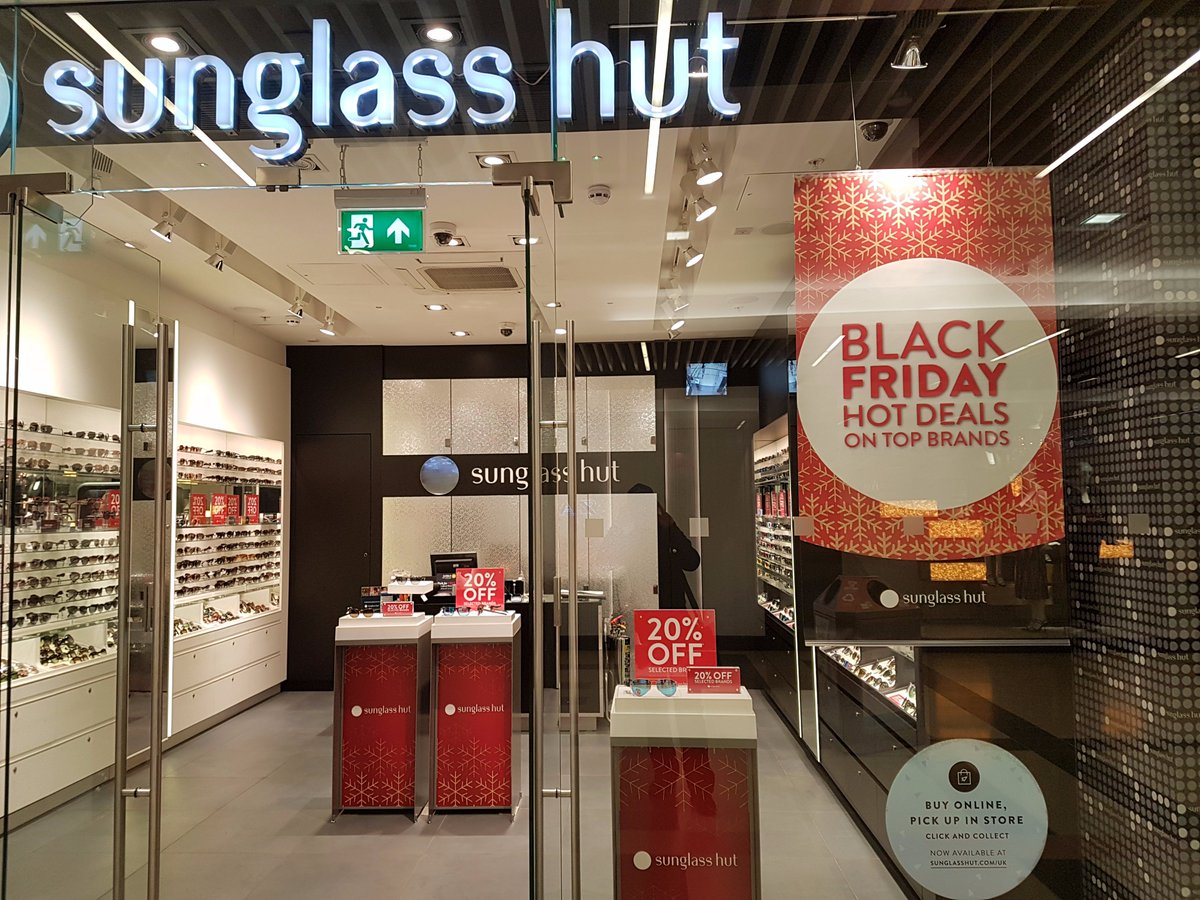 7eacca67eae Hot deals on top brands - 20% off selected brands  sunglasshut  Guildford  until end of day Monday!  BlackFriday   BlackFridayGfordpic.twitter.com 6ydsI1cF7W