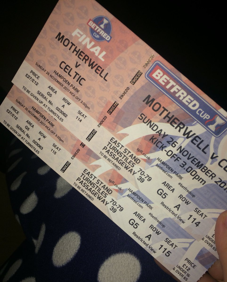 Tickets have arrived for Sunday.. #COYBI...
