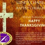 From our family to yours, we hope and pray you have a HAPPY THANKSGIVING!!