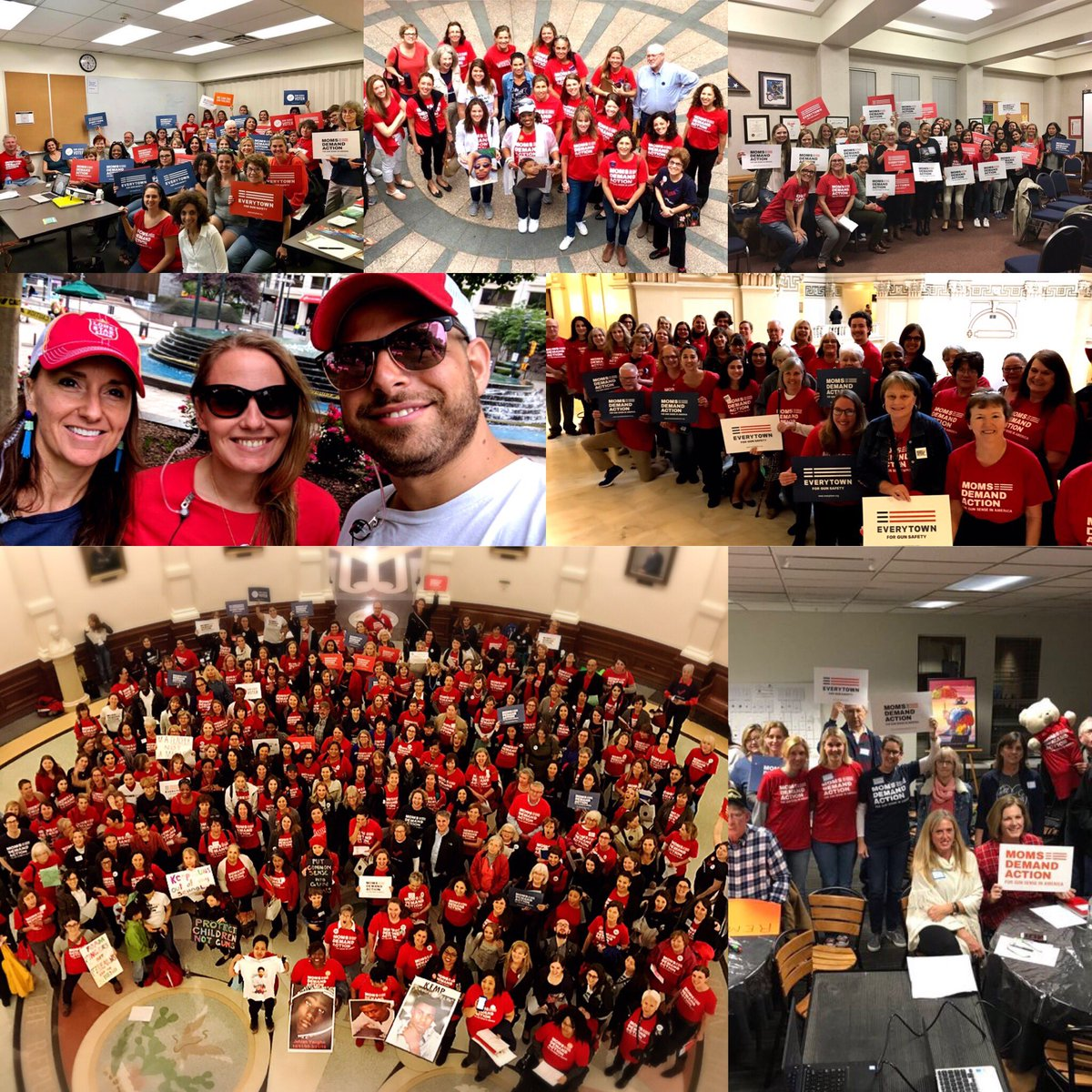 Today I&#39;m thankful to @MomsDemand volunteers across the country fighting for safe communities every day. #HappyThankgiving #ThursdayThoughts <br>http://pic.twitter.com/oeufHFQSXd