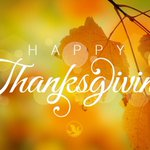 Our member services team wishes you a Happy Thanksgiving! Time for giving thanks!