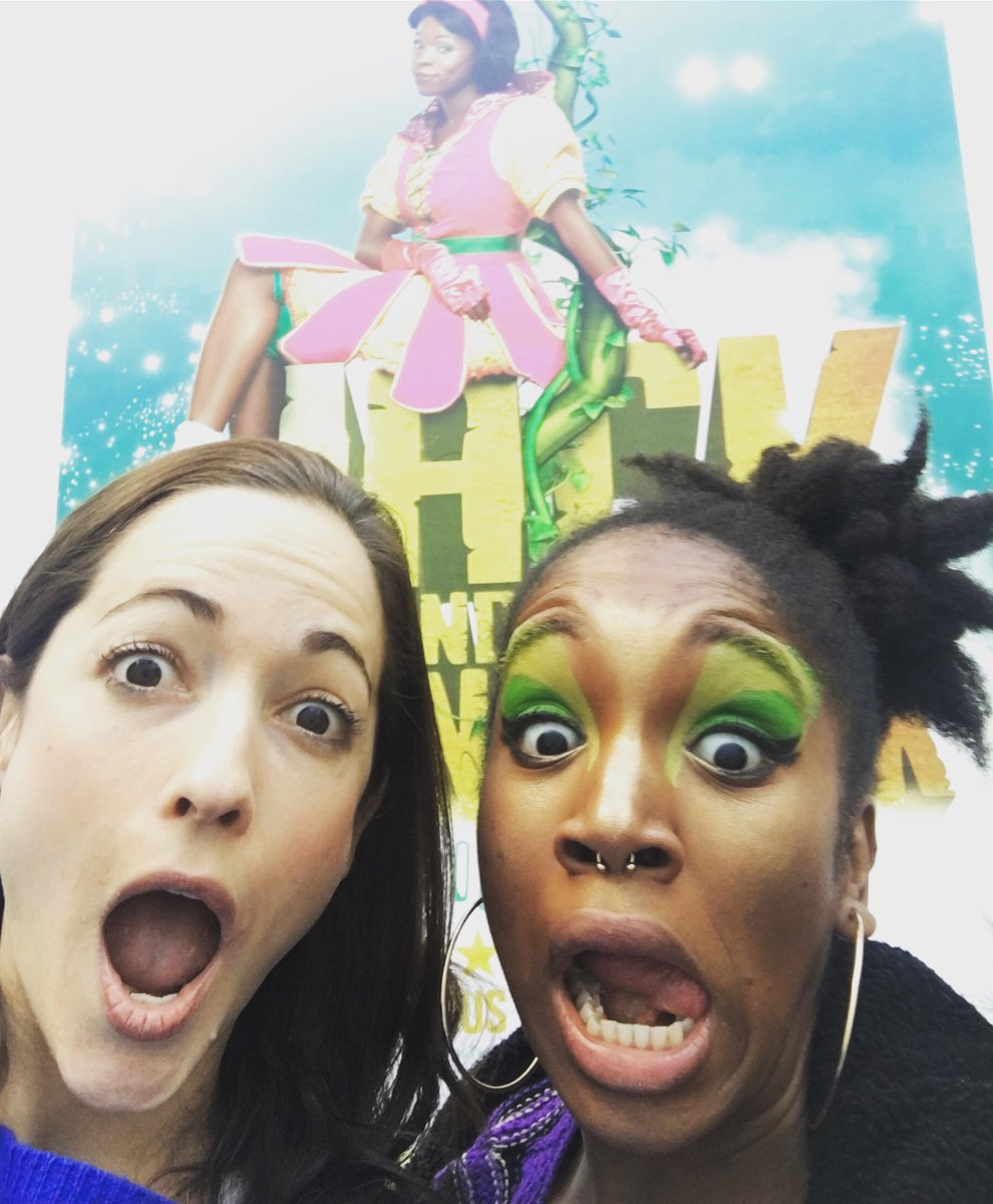 it's #Sombra and #Orisa! Just watched this beauty, @CherrelleSkeete, perform Jack and the Beanstalk at @lyrichammersmith ! If you're in #London check it out! The most beautiful #Panto show ever!!<br>http://pic.twitter.com/2U2oSgG8il