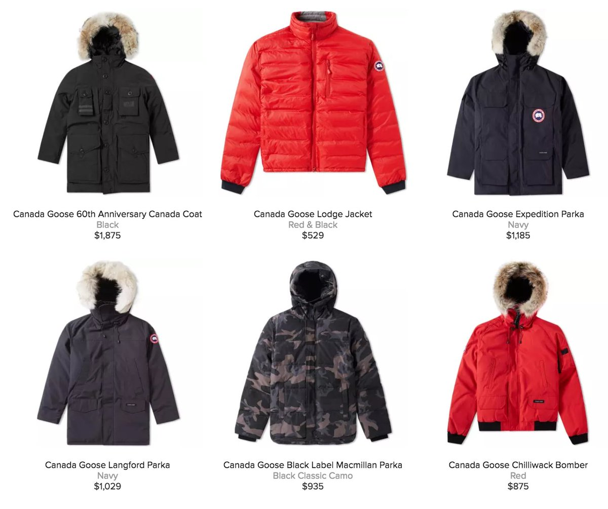 canada goose jackets on sale black friday