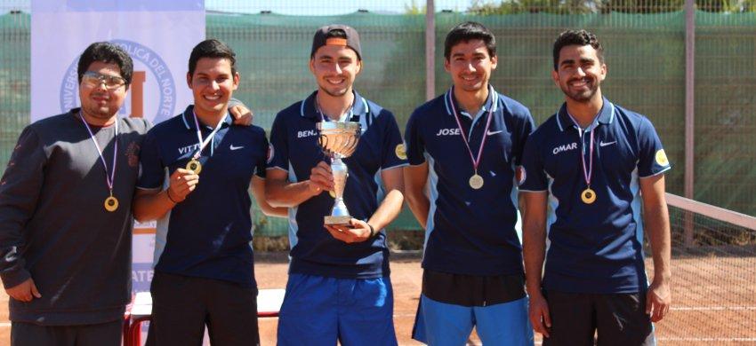 Equipo de #Tenis UCN vence a la Universi...