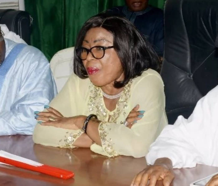 Wife of a former National Chairman of the Peoples Democratic Party [PDP], Maryam Ali has dumped the party & joined All Progressives Congress [APC].