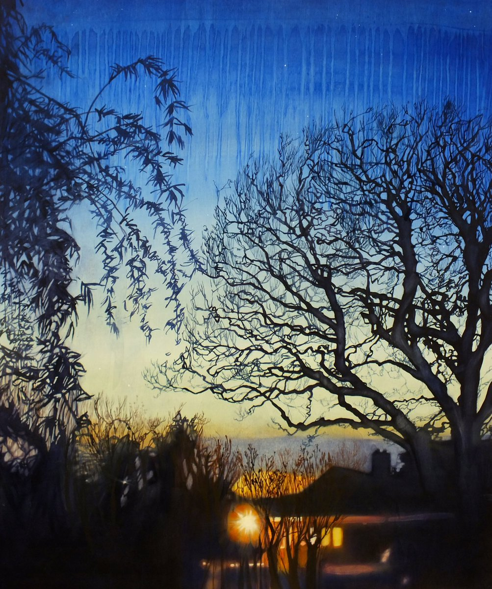 New Arborealist Lara Cobden&#39;s beautiful paintings! #art #painting #trees <br>http://pic.twitter.com/uBjASGHFfo