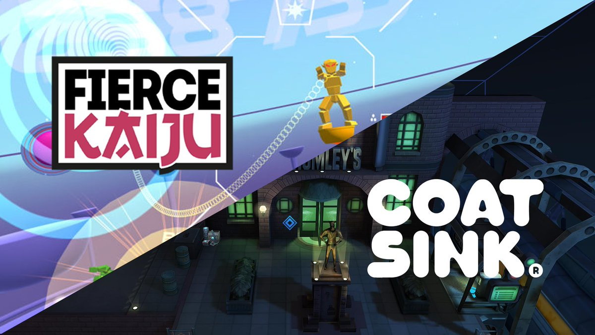 The cat is out of the bag! We're super chuffed to announce we're collaborating with those fine folk @Coatsink on new VR IP. Set to drop in 2018. #VR #VirtualReality <br>http://pic.twitter.com/OuVZSKzJab