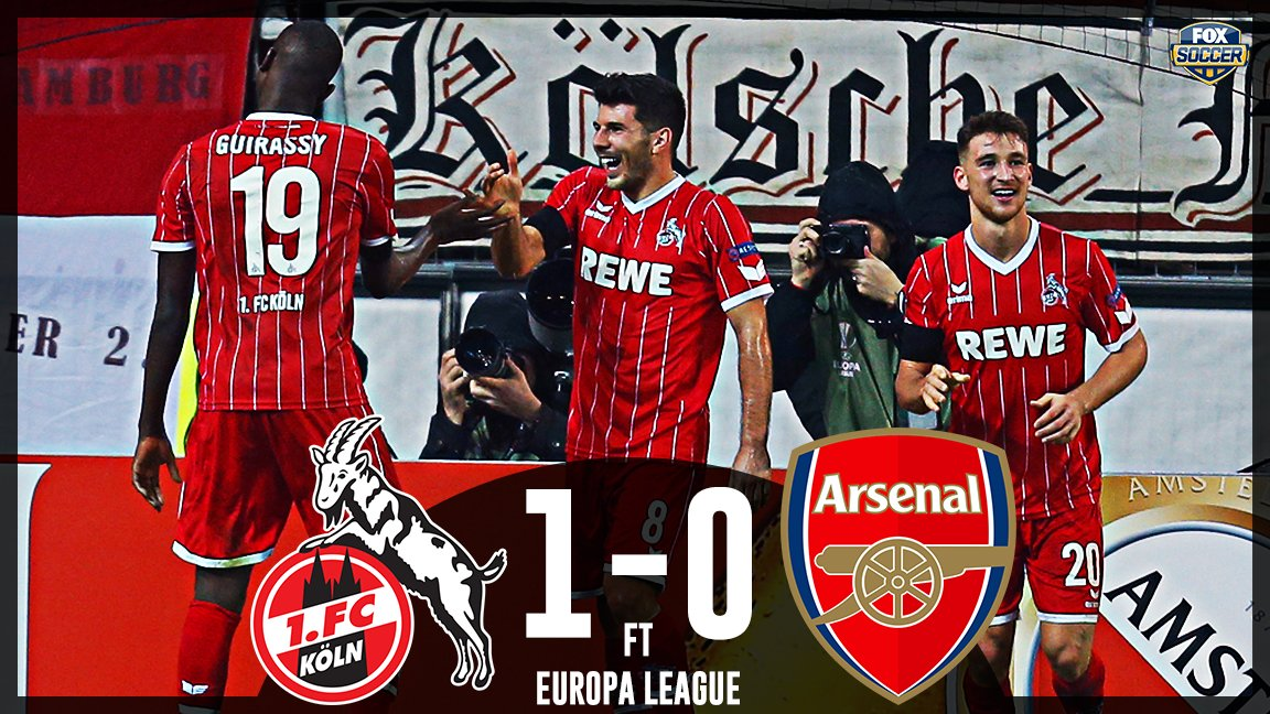 Köln hang on for a vital victory in the Europa League! https://t.co/H6G5mCnCwU
