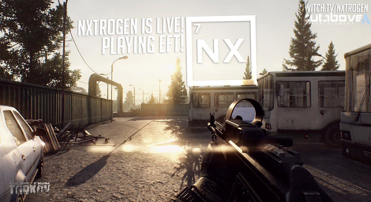 We&#39;re #LIVE!  https://www. twitch.tv/nxtrogen  &nbsp;     @TNS_TV @TNS_TV_RTs #EscapeFromTarkov #Twitch #CutAbove #Gaming #Stream #SupportSmallStreamers #PositiveVibes  <br>http://pic.twitter.com/zhDpxP0hjs