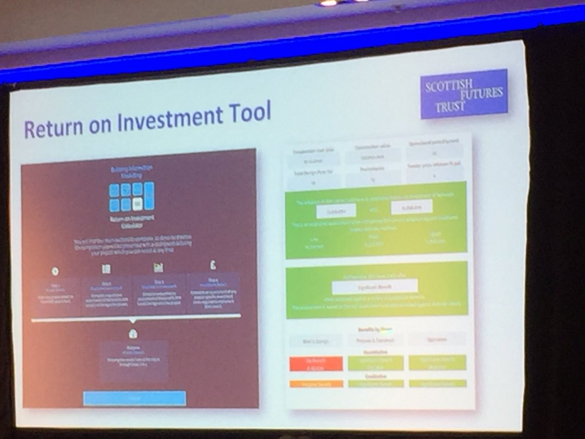 .@BimSft talks through the #ROI tool which is open to all #BIMGathering<br>http://pic.twitter.com/3O1wJlLRT8