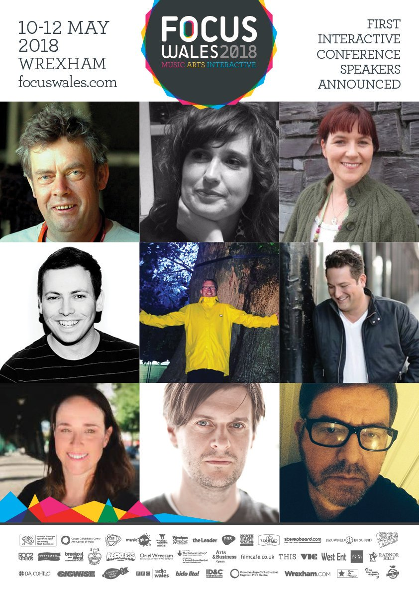 More speakers announced #FOCUSWales2018! Including Martin Elbourne (Glastonbury Festival), Chris Hawkins (BBC Radio 6 Music), Rich Walker (4AD) + more! Welcoming speakers from around the world to #Wales           http://www. focuswales.com/interactive  &nbsp;   10-12 MAY<br>http://pic.twitter.com/rJXSP91Ujs
