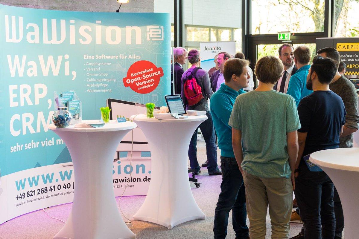 Xentral Erp System On Twitter Augsburg Grundet Event Wawision Unterstutzt Wawision Erp Crm Warenwirtschaft