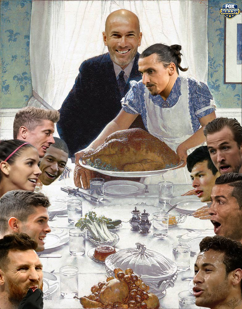 RT @FOXSoccer: Happy Thanksgiving, from our family to yours! https://t.co/kVDvW0Bovr