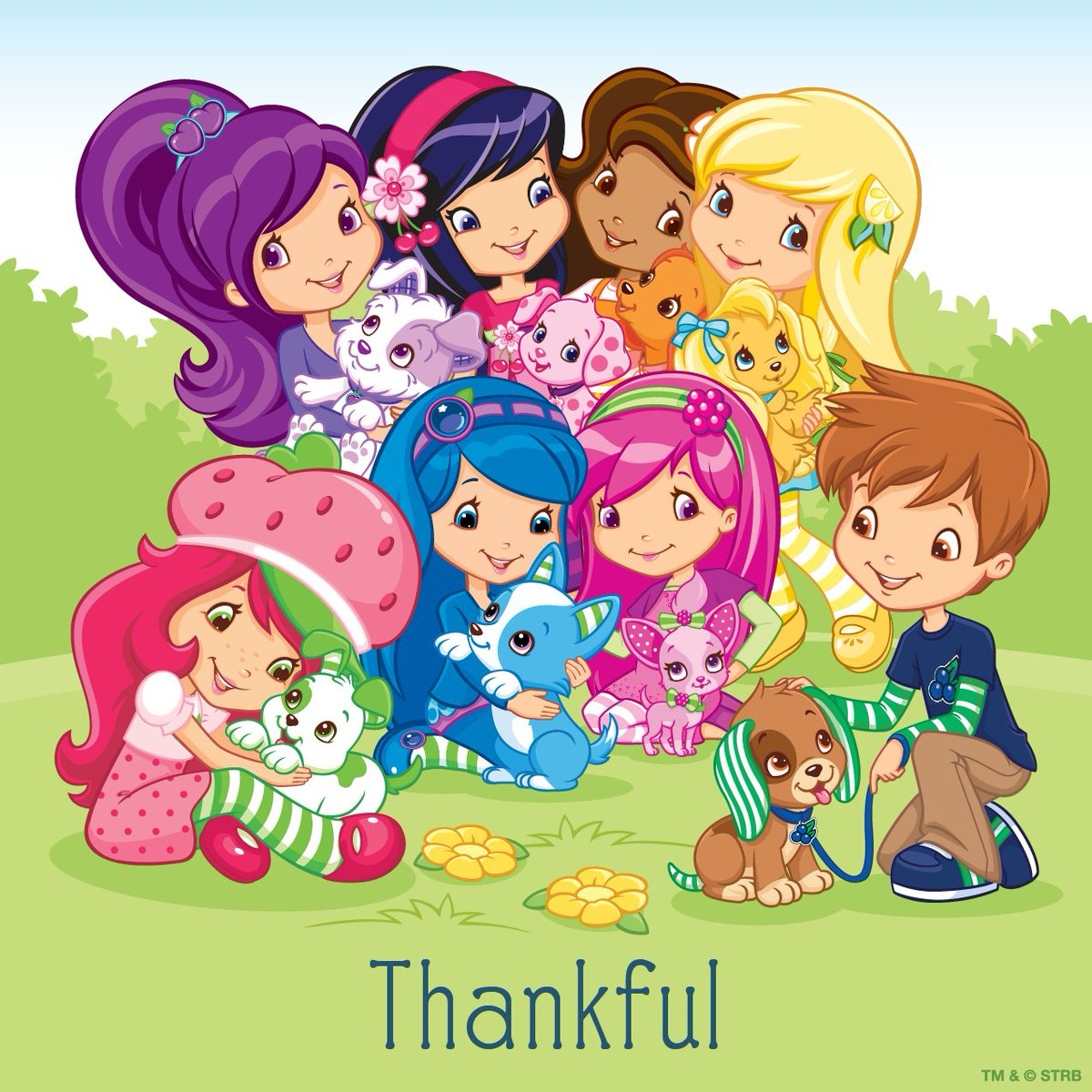 Strawberry Shortcake On Twitter Thankful For My Friends And