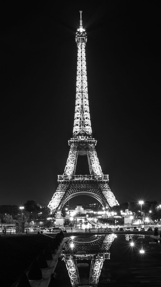 Qhd Wallpapers On Twitter Image By Pexelbay Find More Amazing Images In App Https T Co 3spwpn5uhb Eiffeltower Tower Monochrome Blackandwhite Reflection Night Paris France Photooftheday Qhdwallpapers Wallpapers Hdwallpapers