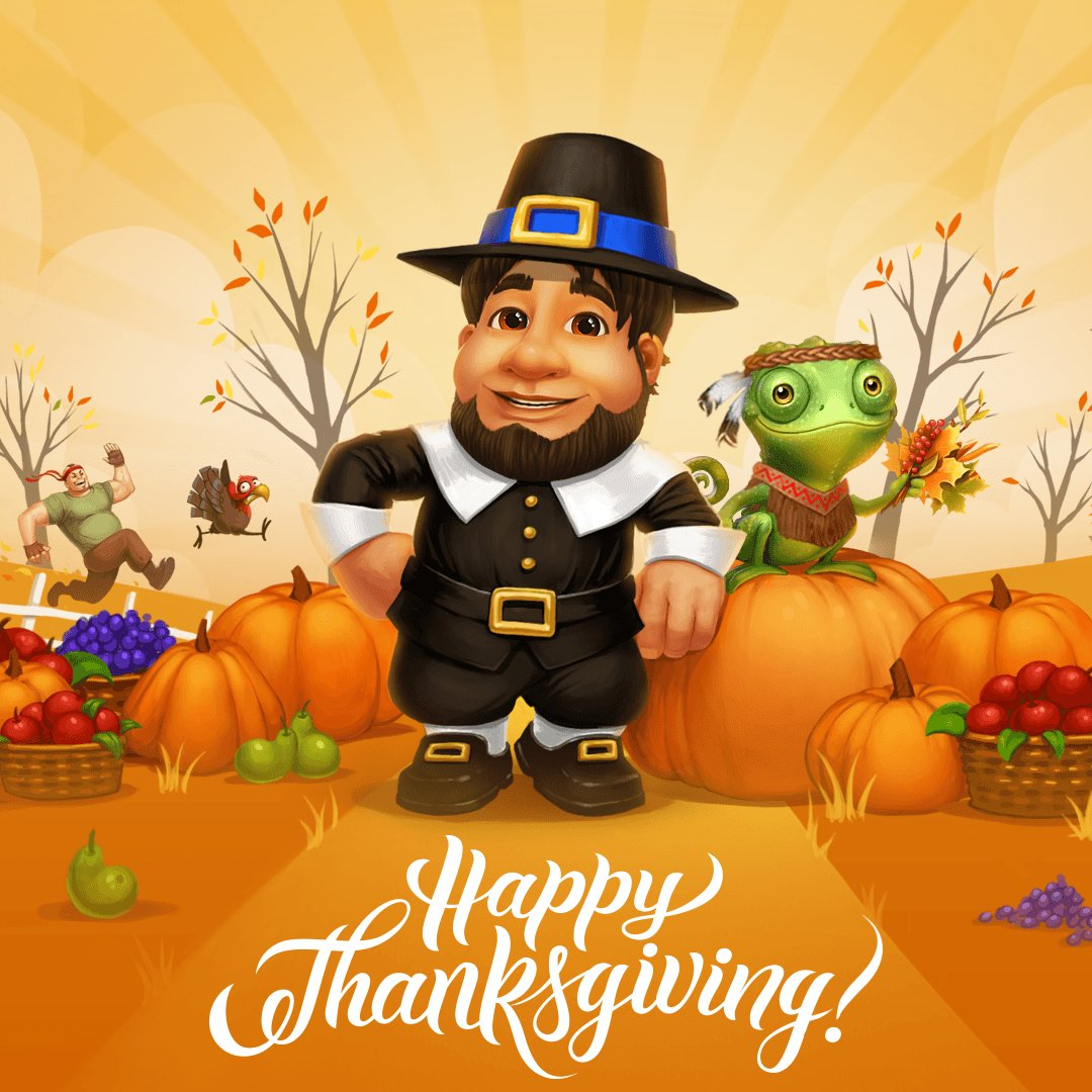 Happy #Thanksgiving, everyone! 🎊 Thank you for being part of the G! universe! Warmest wishes! ➡ https://t.co/UiwVxNbesw 🦃 https://t.co/6giI3VRnC6