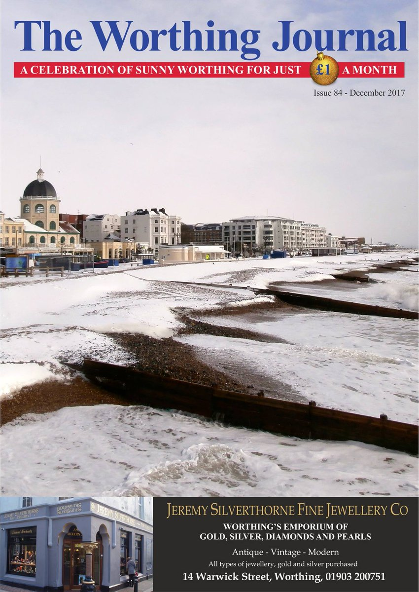 Our Christmas issue Dec Worthing Journal is with us tomorrow and out again straight away to houses all over the local area! Want one? visit  http:// worthingjournal.co.uk  &nbsp;   or give one as a present 12 presents actually for £11.00!! #Worthing #Christmas<br>http://pic.twitter.com/1AP2U6tq0Y