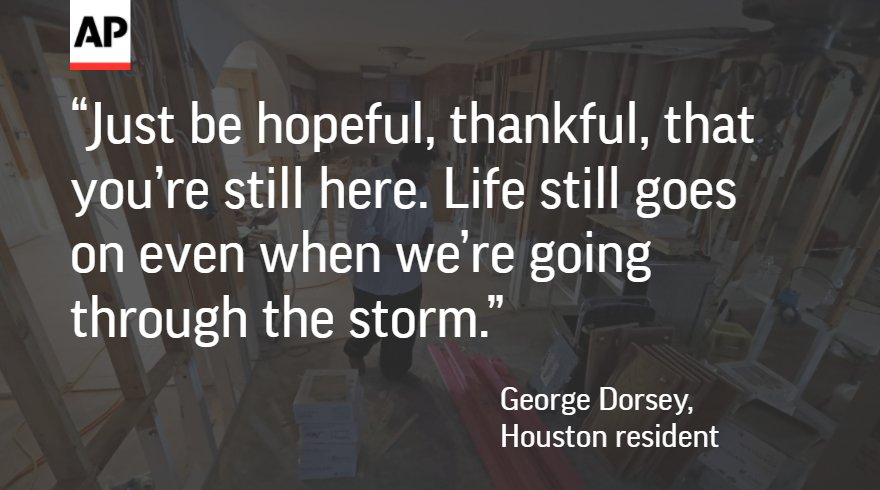 Houston families celebrate Thanksgiving however they can in the aftermath of #Harvey.  http:// apne.ws/GXM7xdJ  &nbsp;  <br>http://pic.twitter.com/qVZyRc4PoU