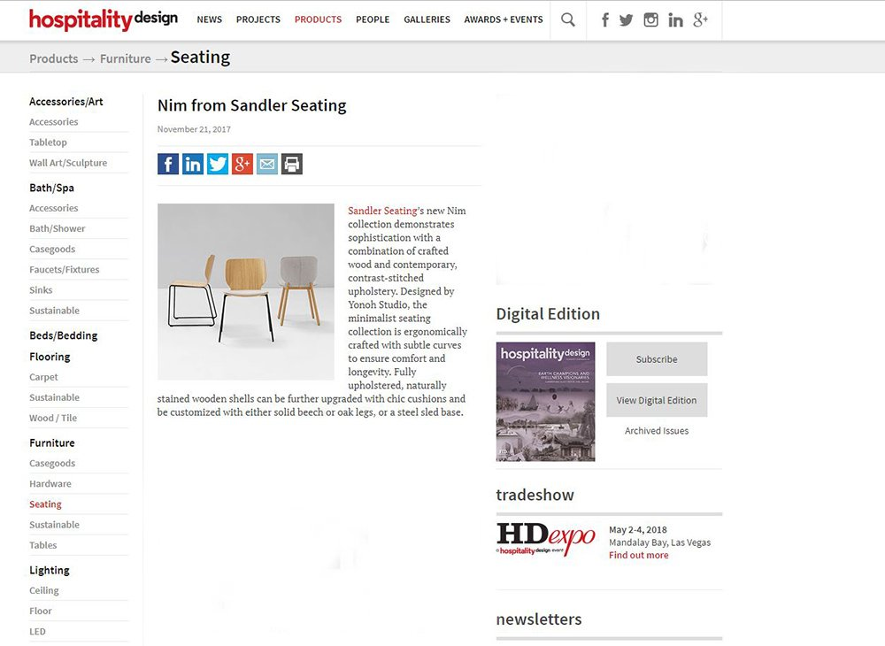 Spotted: Nim online at @hdmag! Check out the full piece here - https://t.co/qLvE9P5aX0 #InteriorDesign #Trending