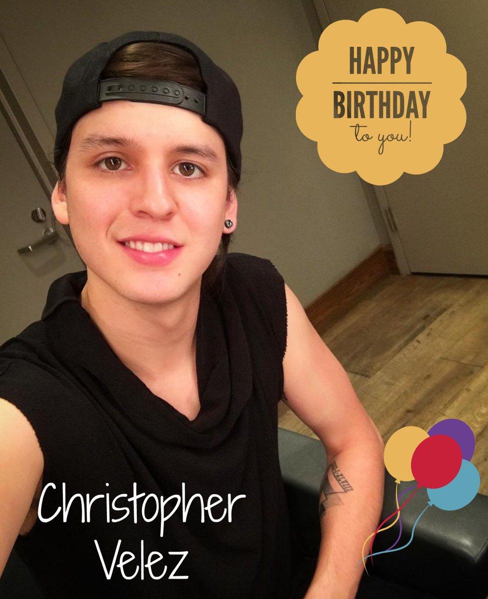 ¡Feliz cumpleaños, @christophervele!, te...