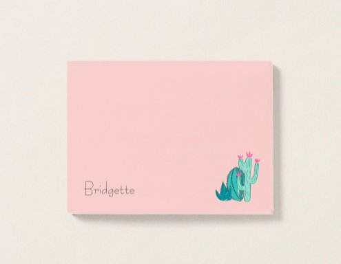Cactus Illustration Post-it Note on #zazzle  http:// bit.ly/2Af28Pd  &nbsp;   #drawing #doodling #cacti #plants #green #pink #flower #floral #botanical #name #customize #personalize<br>http://pic.twitter.com/XwSYgXrpuI