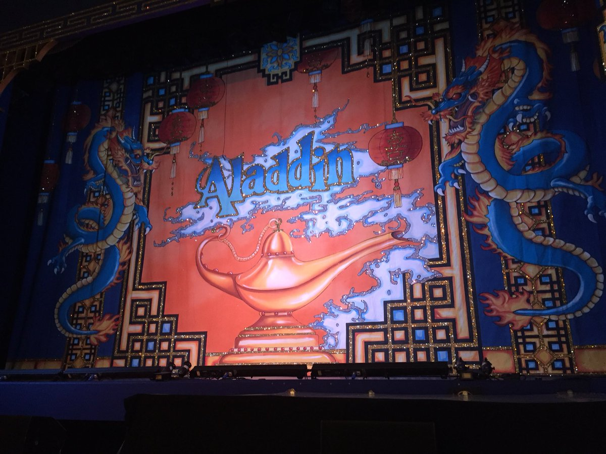 Waiting for start of opening night of Aladdin at Wakefield Theatre Royal with 24!children from church youth group. Very excited ! – at Wakefield Theatre Royal & Opera House