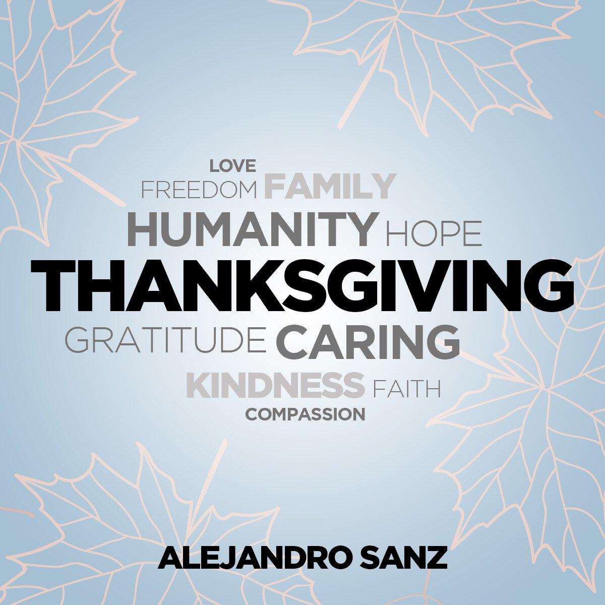 Feliz día de Acción de Gracias/ Happy #ThanksGiving https://t.co/wGjgYbVLkA