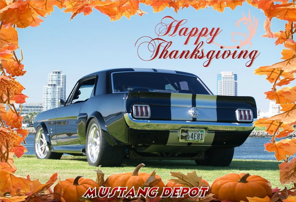 Happy Thanksgiving Enjoy  http://www. MustangDepot.com  &nbsp;   #mustang #mustangparts #mustangdepot<br>http://pic.twitter.com/o0B8sdqy3T