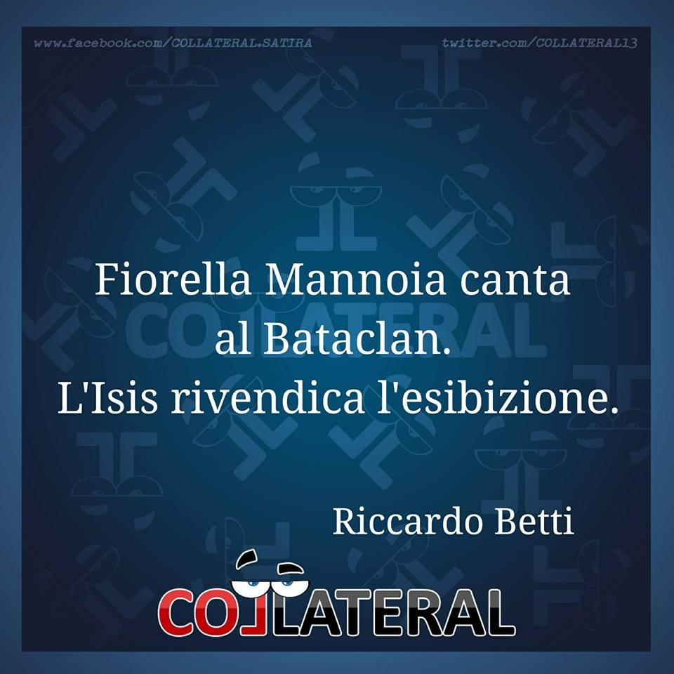#mannoia #bataclan #isis #rivendicazione [R. Betti]<br>http://pic.twitter.com/TL4lqMqvbE
