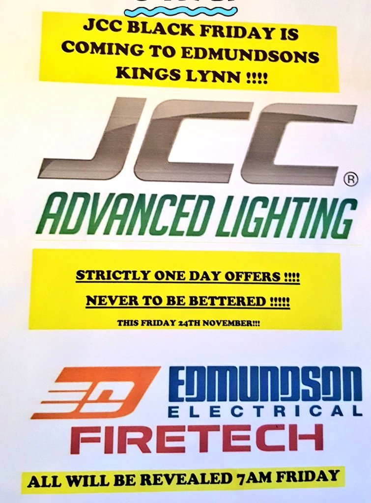 Edmundson Kings Lynn on Twitter  7am #BlackFriday @JCCLighting @eddieskingslynn From the comfort of your office.#led #lighting #downlights #panels Limited ...  sc 1 st  Twitter & Edmundson Kings Lynn on Twitter:
