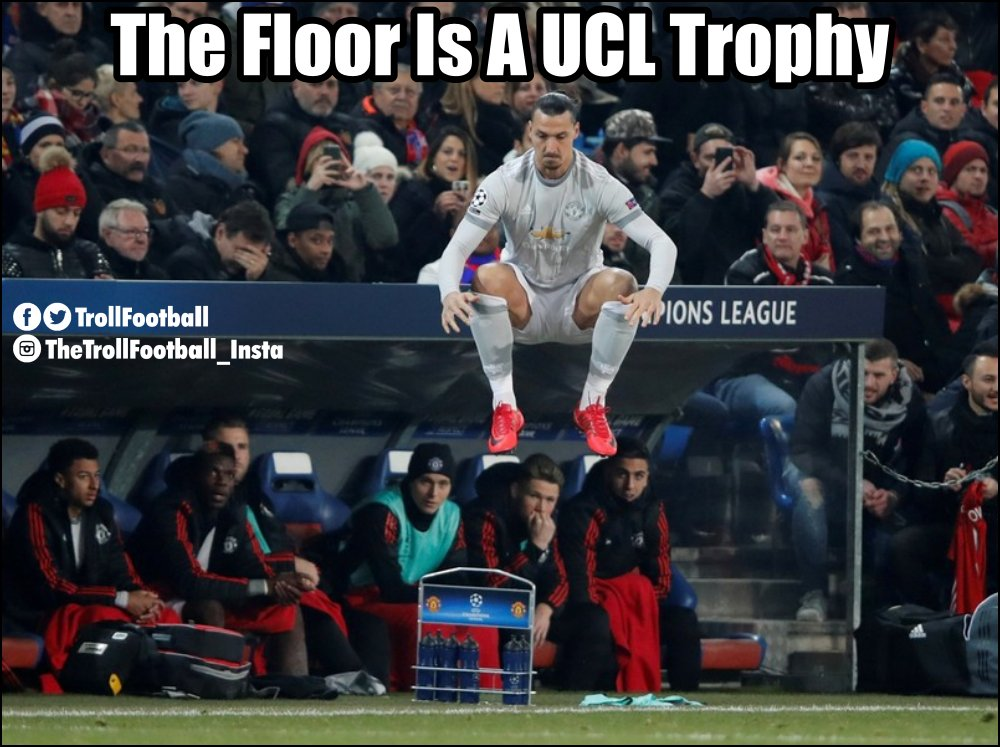 The floor is a UCL trophy https://t.co/n...