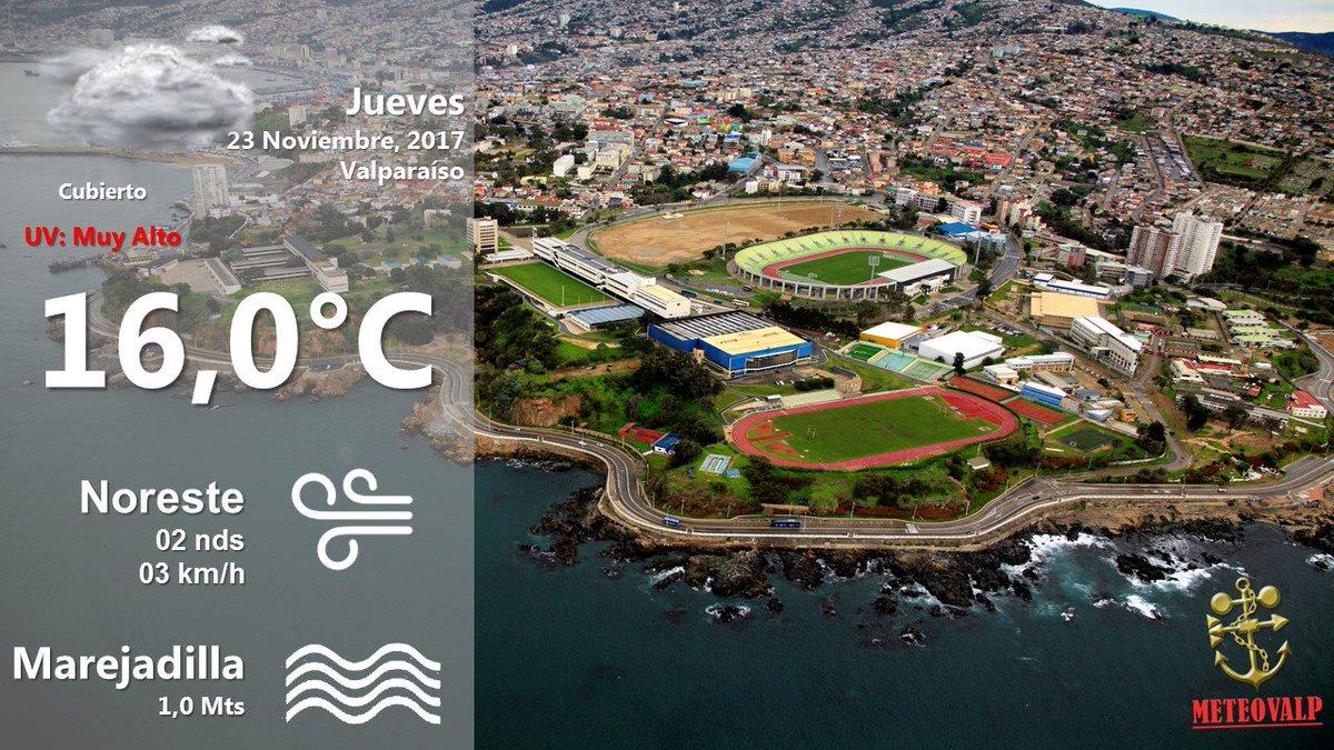 El tiempo actual en #Valparaiso https://t.co/L8167MCymF