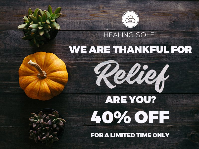 eaf0650d6b4 Enjoy 40% off The Healing Sole today! We re excited to share the peace of  recovery with you  http   ow.ly xv5r30gMdgr pic.twitter.com gsoaF2F0dF