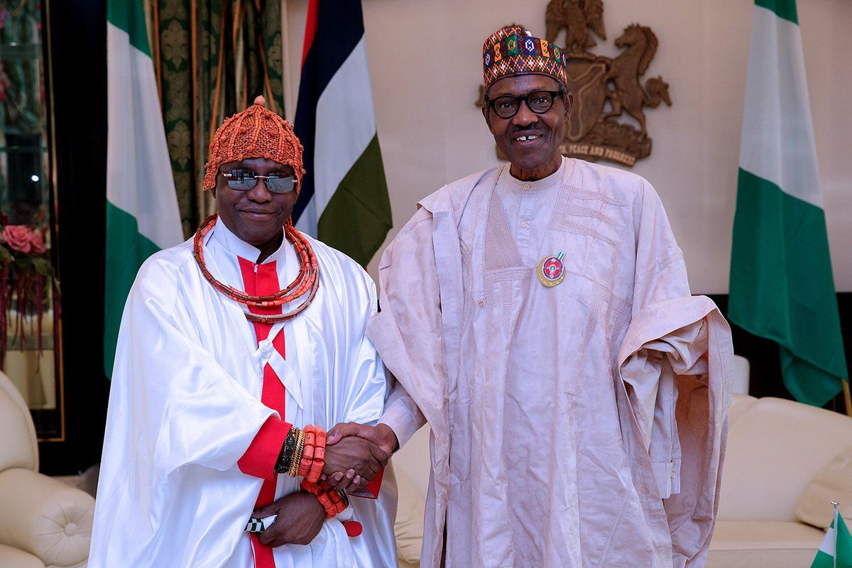 Buhari said that Nigerians have reasons to be proud of the stabilising roles Benin chiefs had played right from the colonial era to the current period.